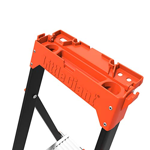 Little Giant Ladders, AirWing, 5 foot, Stepladder, Fiberglass, Type 1AA, 375 lbs weight rating, (15285-001)