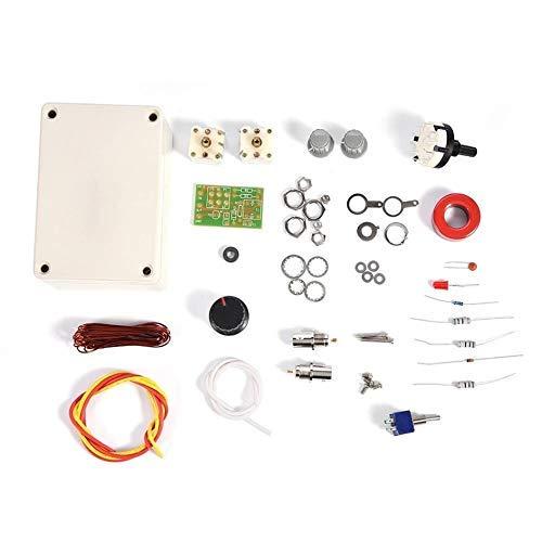 1-30Mhz LED VSWR DIY Kit de sintonizador de Antena Manual para Ham Radio CW QRP Q9 Interfaz BNC Accesorios de impresión 3D