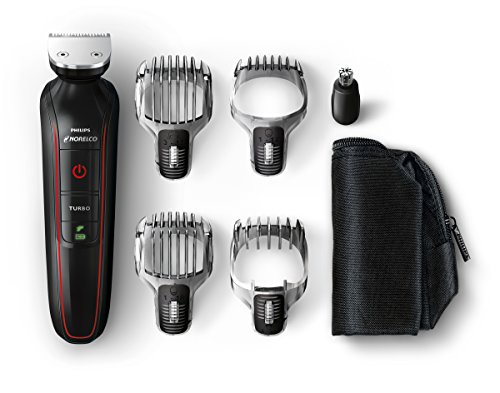 Norelco QG3372/41 Philips Multigroom Beard, Stubble, Hair, Nose and Body Trimmer