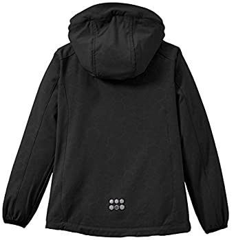 Killtec Mandisa Jr Soft Shell Jacket with Hood Fille, Noir, FR : 10 Ans (Taille Fabricant : 140)