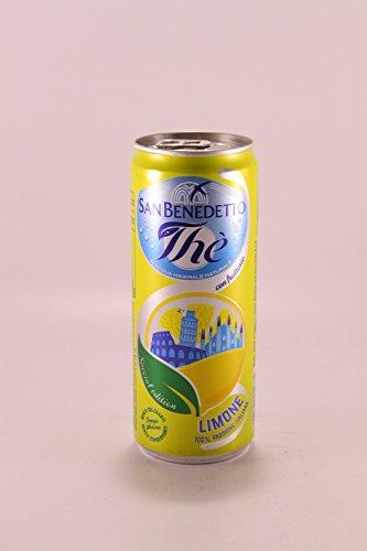 24x San benedetto Eistee Zitrone The' Limone Dose 330 ml tea the erfrischend