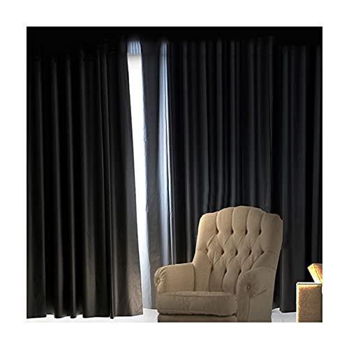 GDMING 100 % mörkläggningsgardiner, svart och silver reflekterande vattentät sommar isoleringsduk med öljetter topp för vertikala vardagsrum balkong draperier, 17 storlekar (färg: Silver, storlek: 1,4 x 1,5 m)