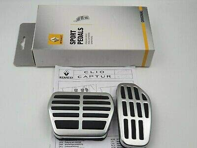 8201720785 Sportpedale für Renault Neu Clio 5 und Neu CAPTUR mit Automatikgetriebe
