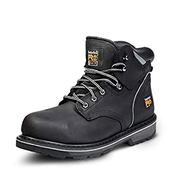 Timberland PRO Men s Pitboss 6  Steel-Toe Boot Black  11 EE - Wide