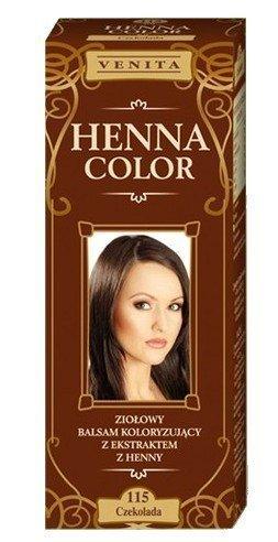 Henne Color 115 Cioccolata Balsamo Per Capelli Colore Capelli Effetto Colore Eco Gallina Tintura Di Capelli Naturali