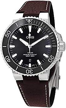 ORIS Aquis Date Automatic Black Dial Men's Watch