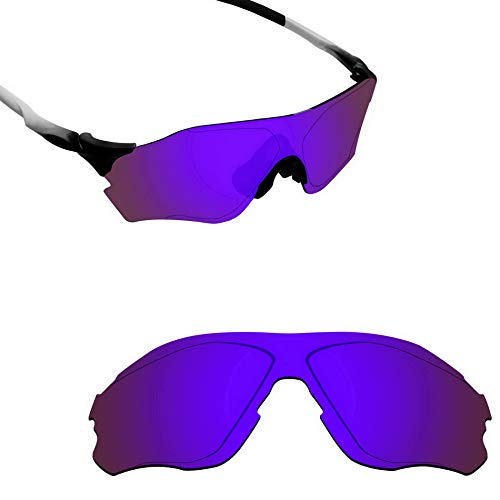 Alphax Plasma Purple Polarized Replacement Lenses for Oakley EVZero Path OO9308