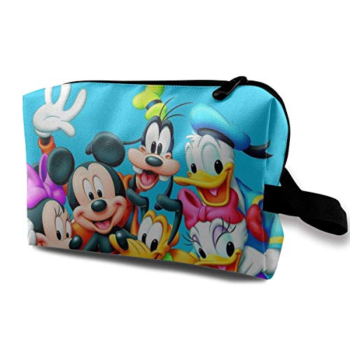Almost-Okay-Shop Hängende Kulturtasche Donald Duck m/ic / -key und Goofy für Frauen Mädchen