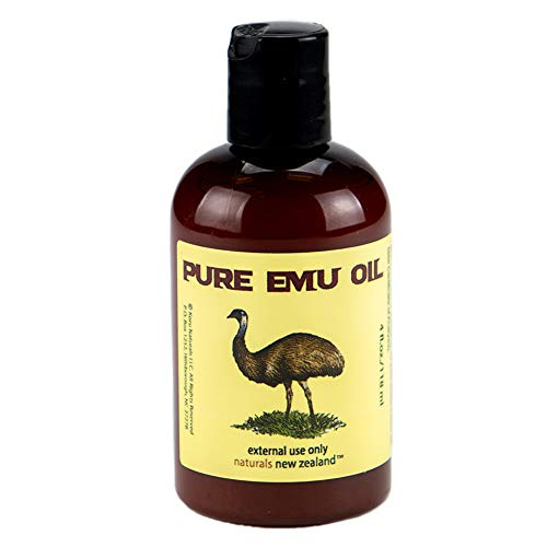 Emu Oil Pure Premium Golden 4 Ounces