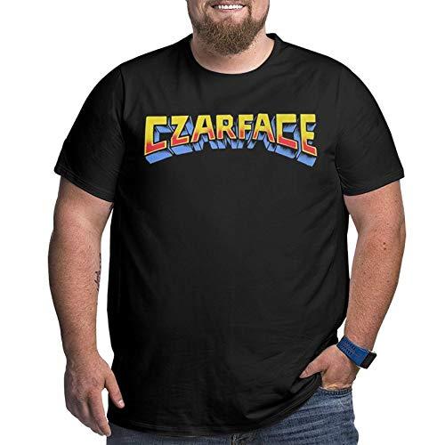 GOUJIBADE Czarface Logo Big Size Cotton Comfortable and Breathable Men