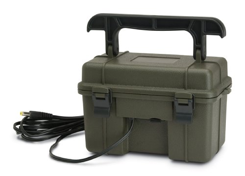 STC-12VBB 12V BATTERY BOX W/AC CHARGER
