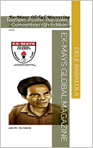 Ex-Mays Global Magazine: Bumper Perth/ Australia Convention 5th Edition (English Edition)