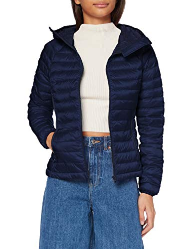United Colors of Benetton 2AOB53615 Giacca, Blu 016, 42 Donna