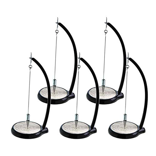 SM SunniMix 5X Pendule de Sable Pendulum Sable Peinture Pendulum Ménage Décoration