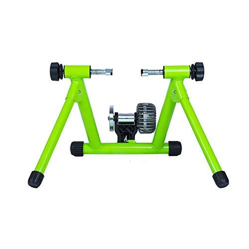 Rodillo de Entrenamiento de Bicicleta de Carretera Resistencia de potencia hidráulica adiestramiento de equitación de plataforma inteligente Ejercicio Estante verde de bicicletas Plataforma cubierta d