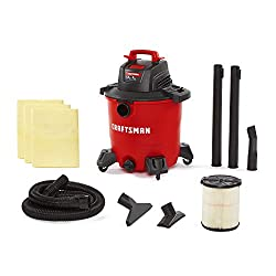 craftsman 9 gallon wet and dry vac