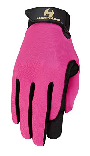 Heritage Performance Gloves, Size 8, Pink