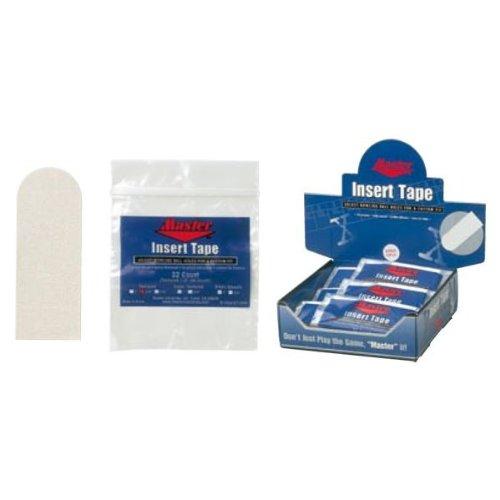 (マスター) Master インサートテープ(白) 3/4インチ ボウリング用品