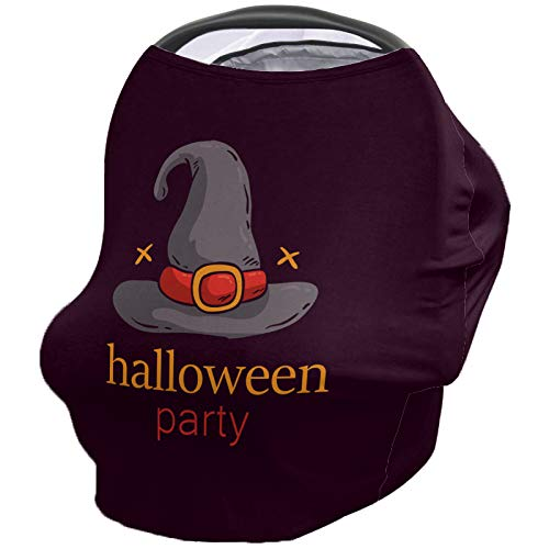 Why Should You Buy Breastfeeding Nursing Cover Multi Use for Baby Car Seat Halloween Horror Magic Ha...