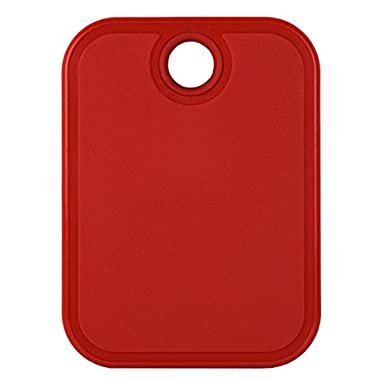 Architec Original Gripper Barboard, 5  by 7 , Red, Patented Non-Slip Technology and Dishwasher Safe Cutting Board