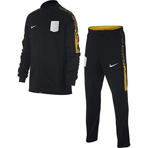 Nike Jungen Dry Academy Trainingsanzug, Black/Amarillo/White, XS