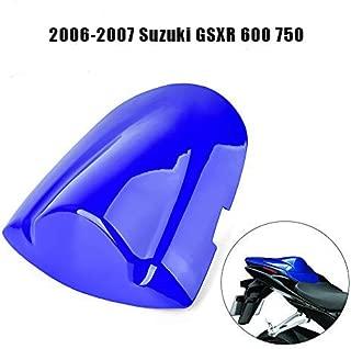 FATExpress moto Shinny Gloss rosso posteriore sedile passeggero sellino posteriore rigida Cowl ABS carena motore copertura per 2003/ /06 /2006/Honda CBR600RR Cbr 600/RR 600RR F5/2004/2005/03/