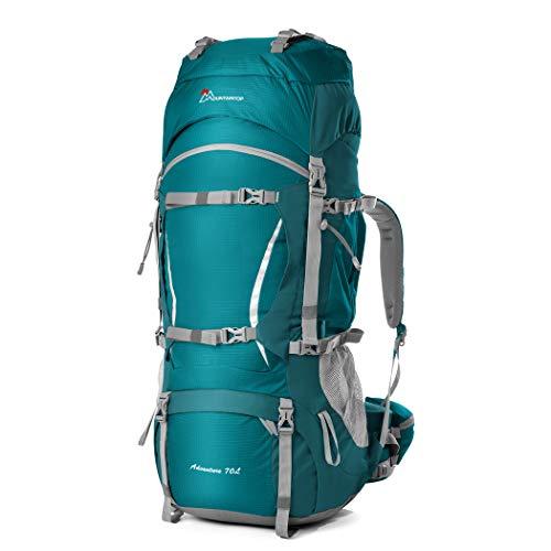 MOUNTAINTOP Zaino Trekking 50L/70L Zaino Montagna Grande capacità Zaino Adulto per Escursionismo Campeggio Alpinismo Viaggio Multifunzione