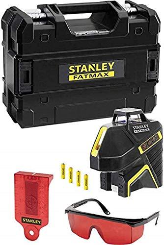 Stanley FMHT1-77416 Nivel láser de luz roja vertical de 360 grados y punto