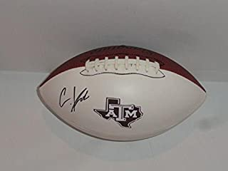 Christian Kirk Signed Football Texas A&m Aggies Autographed Proof Nfl Star - Autographed College Footballs