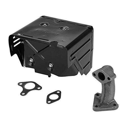 Conjunto de silenciador de generador eléctrico EVTSCAN para piezas de motor de gasolina Honda GX340 GX390 182F 188F