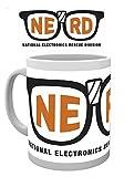 1art1 Pixels, Nerd, National Electronics Rescue Division Foto-Tasse Kaffeetasse (9x8 cm) Inklusive 1x Überraschungs-Sticker