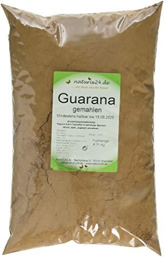 Naturix24 Guarana Pulver, 1er Pack (1 x 1 kg)