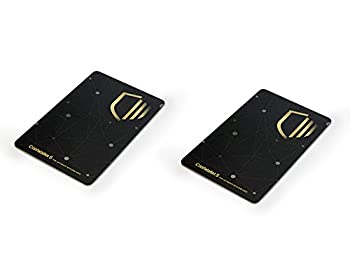 CoolWallet S Duo | Wireless Hardware Wallet 2 Pack- Most Secure Bluetooth Hardware Wallet- Support BTC ETH LTC USDT XRP BCH all ERC20 tokens and More