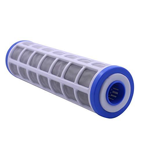 W.Z.H.H.H 10'Cartucho de Filtro de Malla de Alambre de Acero Inoxidable 40 Micron Purifier Purifier PRE-Filter Puede llenar el polifosfato para la prevención de la Escala