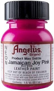 Springfield Piel de la empresa Joy Rosa Neón acrílico de Jamaica 1oz de pintura Color # 122Joy Pink Neon Modelo: Oficina Supply tienda de Jamaica