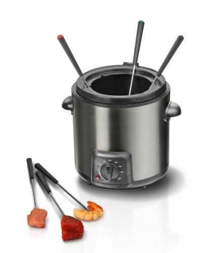 Steba DF 90 Mini-Fritteuse / Fondue-Set / Edelstahlgehäuse / für 1-2 Personen - 3