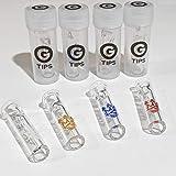 Puntas G de Smo-King, filtros de vidrio con cabeza redonda