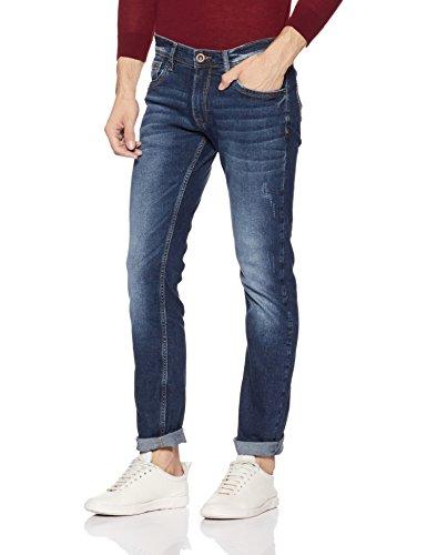 Pepe Jeans Men's Skinny Fit Jeans (PM204329H45_Blue_34W x 32L)