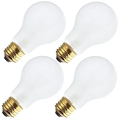 Industrial Performance 50A19 277V, 50 Watt, A19, Medium Screw (E26) Base Light Bulb (4 Bulbs)