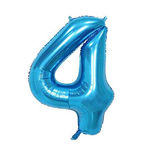 lhmlyl Vajilla CumpleañOs InfantilArtículos de Fiesta Soporte para Globos Tema para niños Decoración de Fiesta de cumpleaños Recién Nacido Baby Shower Productos Decoración Desechable-32 Pulgadas 4-