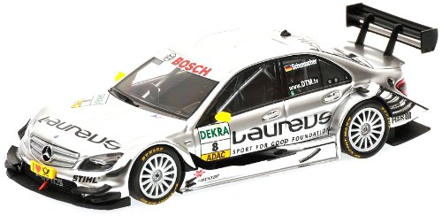 Minichamps 400103908 - Mercedes-Benz C-Class - Team Laureus AMG, Ralf Schumacher DTM, Maßstab: 1:43