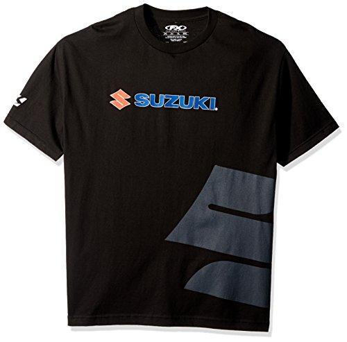 Factory Effex 15-88474 Suzuki Big 'S' T-Shirt (Black, X-Large)