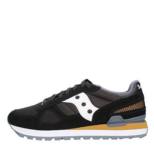 Saucony Shadow Original, Sneaker Uomo, Multicolore (Black/White), 40.5 EU