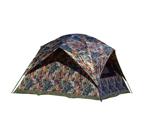 Texsport Unisex's 01333 Camouflage Headquarters Square Dome Tent, W x 108' D x 72' H