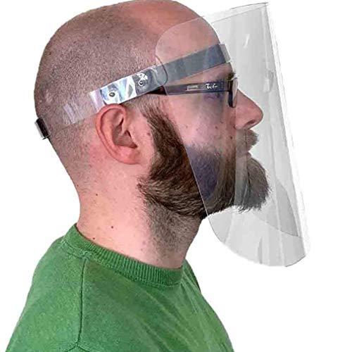 Visier Gesichtsschutz – Gesichtsschutz aus Kunststoff abwaschbar – Face Shield – Gesichts Schutzschild Made IN Germany