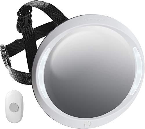 Miroir ACM a contre recul de apramo avec lumière et télécommande