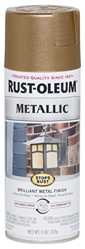 Rust-Oleum 7274830 Stops Rust Metallic Spray Paint