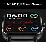 V2A Bluetooth Direct Calling IP67 Waterproof Smartwatch with Gesture Control and ECG Heart Rate Blood Pressure Monitor Fashion Smartwatch (Black)