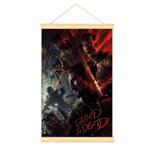 High grade Canvas hangs a picture Call of Duty Black Ops 4 Blood of The Dead Zombies Modern canvas mural Poster mural Easy to install mural decorative posters dining room study bedroom banquet hal