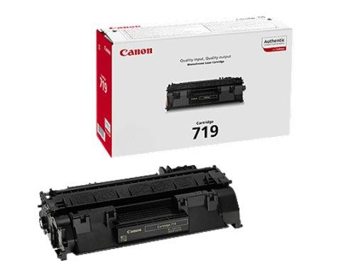 Canon 719H Cartucho de toner original Negro para Impresora Laser Isensys
